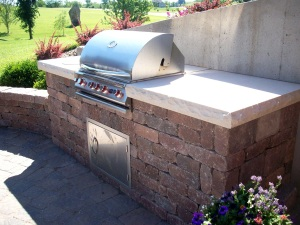 outdoor kitchen design near manhattan topeka ks