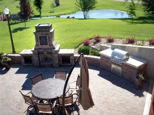 outdoor kitchen design near manhattan kansas