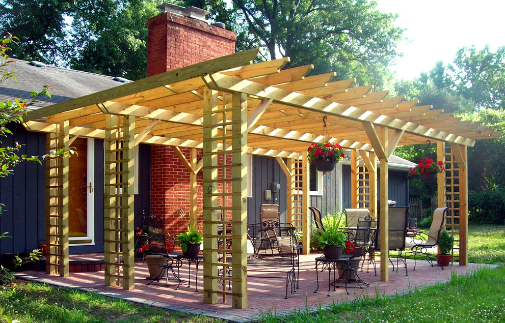Valleyscapes for Pergola designs